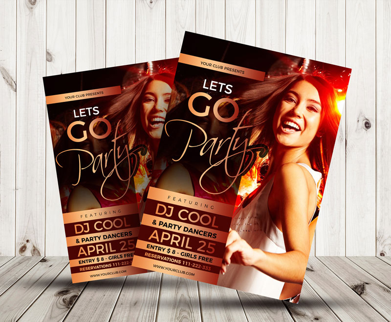 Free-Cool-Party-Flyer-Design-Template