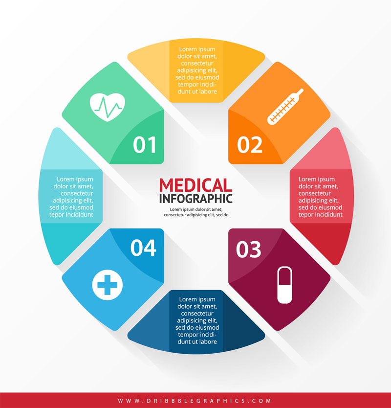 Free-Medical-Infographic-Design-Template
