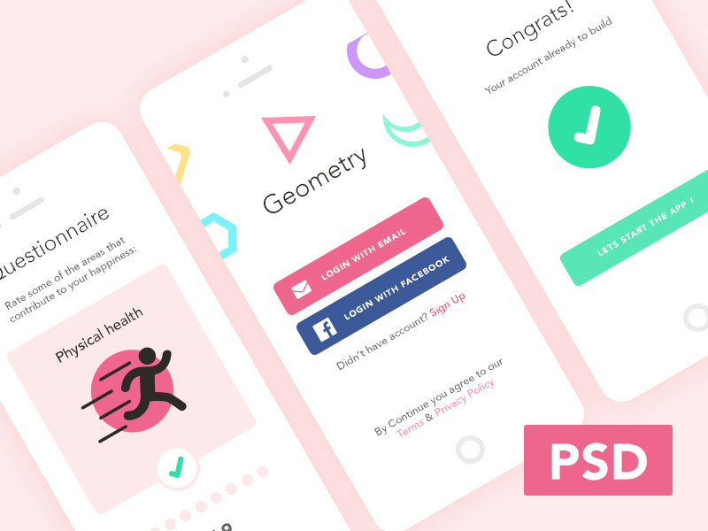 Free-Mobile-Login-Psd