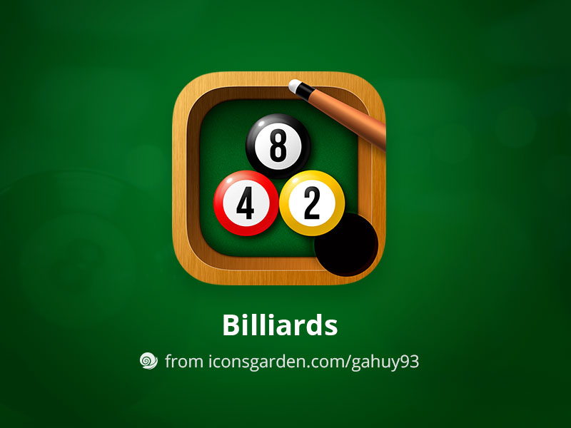 Free-PSD-Billiards-App-Icon