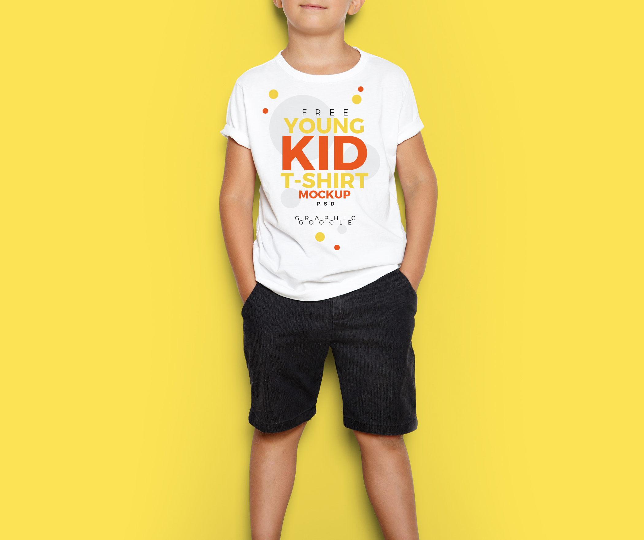 Free-Young-Kid-T-Shirt-MockUp-PSD