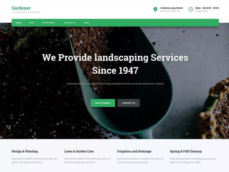 Gardener-white,-clean,-elegant,-modern,-beautiful-and-creative-free-WordPress-Theme