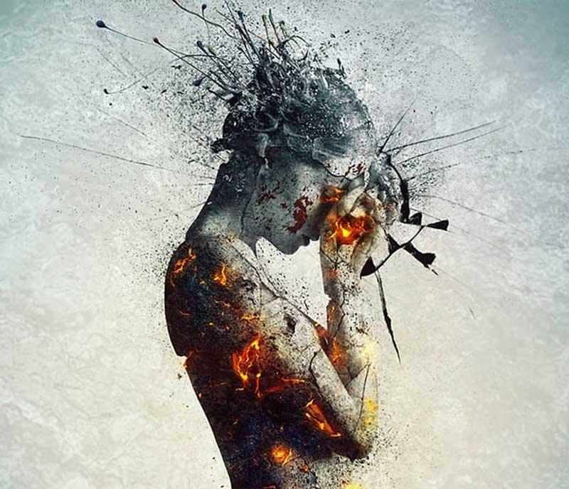 How-to-Create-an-Emotional,-Molten,-Shattered-Statue-in-Photoshop