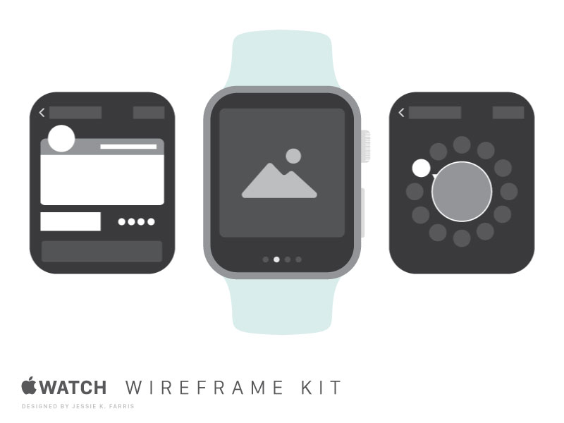 Apple-Watch-Wireframe-Kit-Freebie