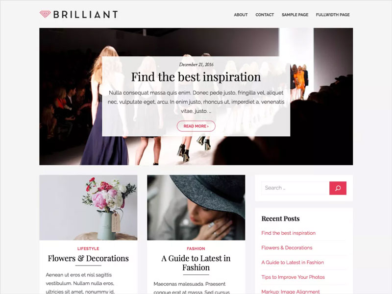 Brilliant-Free-Stylish-magazine-WordPress-Theme