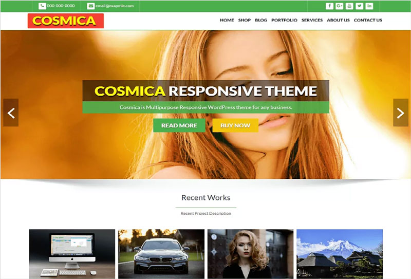 Cosmica-Green-Free-Awesome-Multipurpose-Responsive-WordPress-Theme