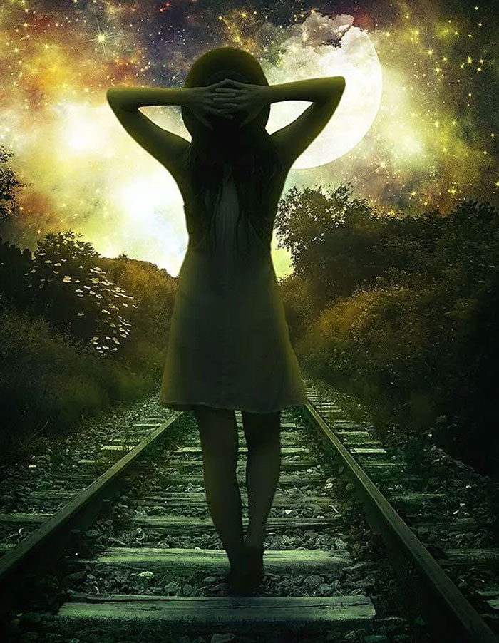 Create-This-Gorgeous-Moonlight-Poster-of-a-Girl-Walking-on-a-Railway