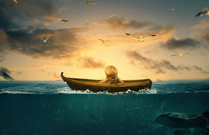 Create-a-Surreal-Underwater-Photo-Manipulation-in-Photoshop