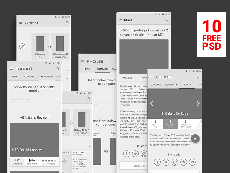 Free-PSD-Wireframes-for-Phones-Reviews