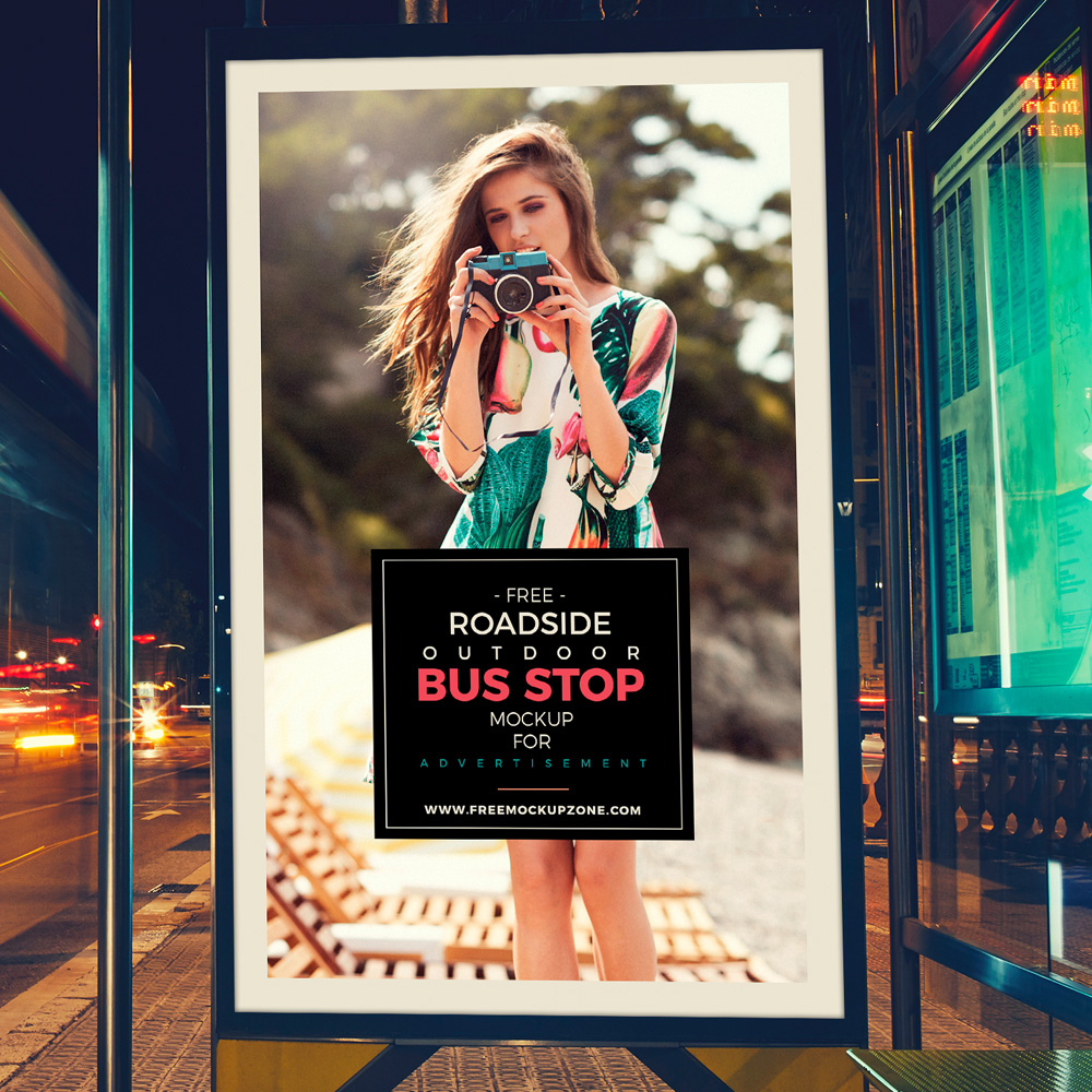 Free-Psd-Outdoor-Bus-Stop-Billboard-MockUp