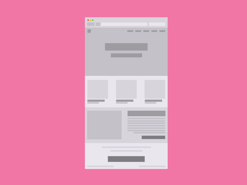 Free-Simple-Wireframe-Website-Template