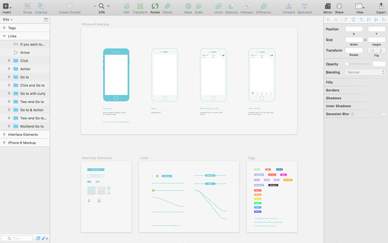 Free-WZ-Wireframe-Kit-(Sketch)