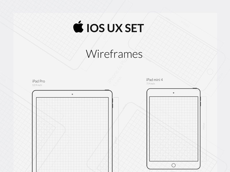 Free-iOS-UX-Wireframe-&-Icon-Set
