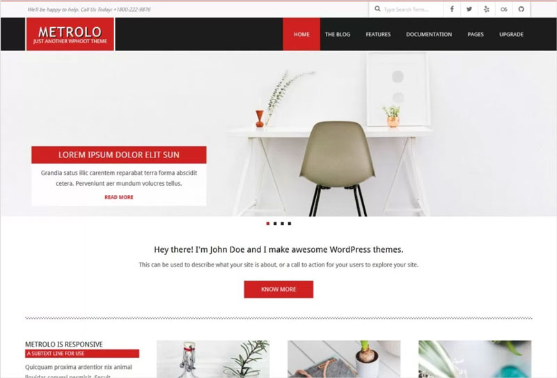 Metrolo-Free-Flexible,-Responsive,-Clean,-Bold,-Modern-and-Professional-Theme