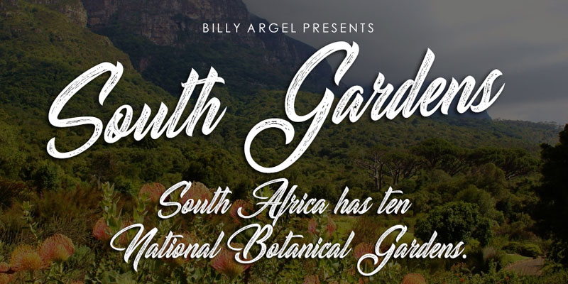 South-Gardens-Free-Script-Font-For-Artists