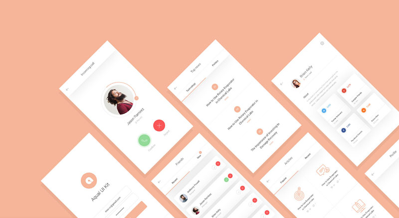 Aqual-Mobile-UI-Kit-for-Social-Networking-Apps-Freebie