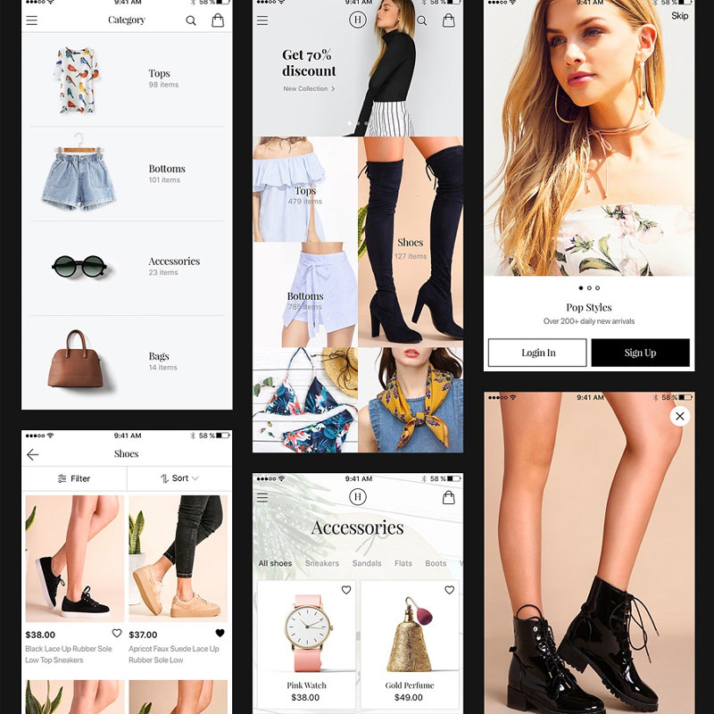 Helen-Free-iOS-Ecommerce-UI-Kit