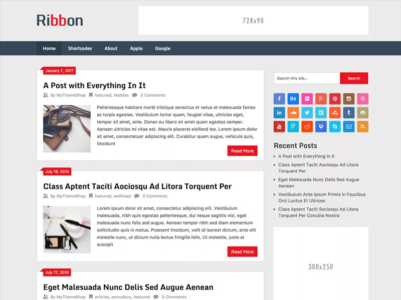 Ribbon-Lite-Free-Blogging-WordPress-Theme