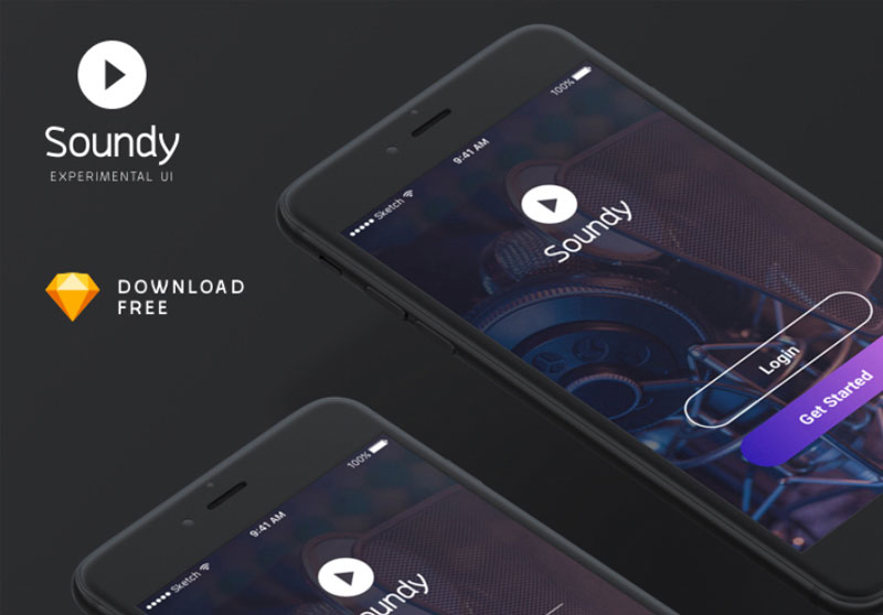 Soundy-Free-Mobile-App-UI-Kit