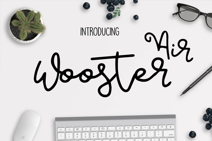 Air-Wooster-Beautiful-Brush-Style-Font