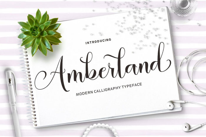 Amberland-Modern-Calligraphy-Typeface