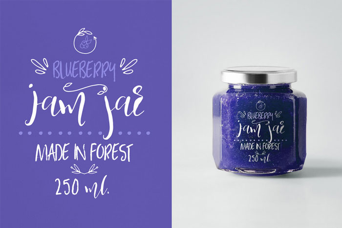 Blueberry-Stylish-Font