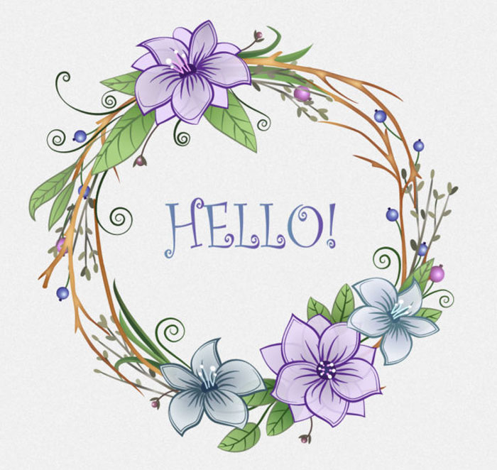 Create-Floral-Wreath-in-Adobe-Illustrator