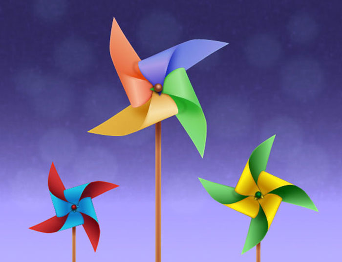 Create-the-Colorful-Pinwheels-in-Adobe-Illustrator