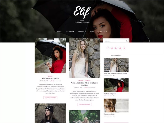 Elif-lite-Fully-Responsive,-Mobile-Friendly-Fashion-Blog-Free-WordPress-Theme
