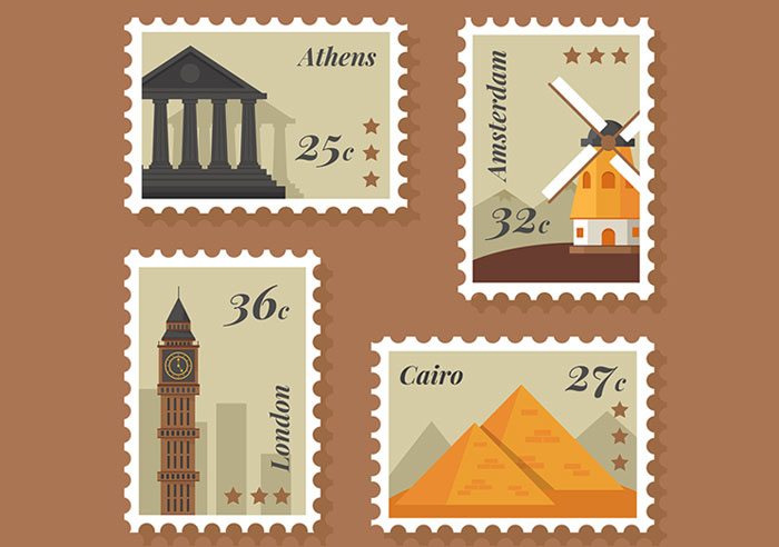 FREE-8-City-Stamp-Vector-Template