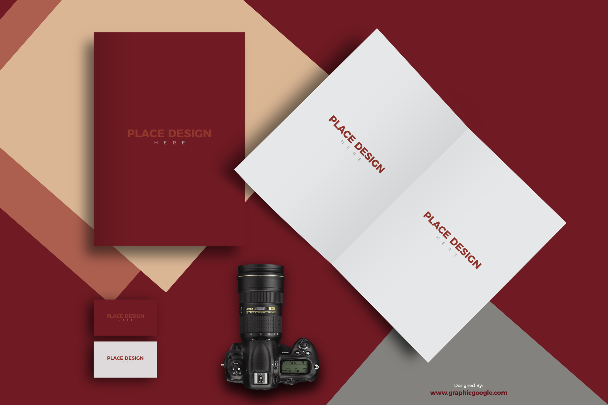 Free-Brochure-Title-&-Inside-with-Business-Card-Mockup-For-Design-Presentation-Preview