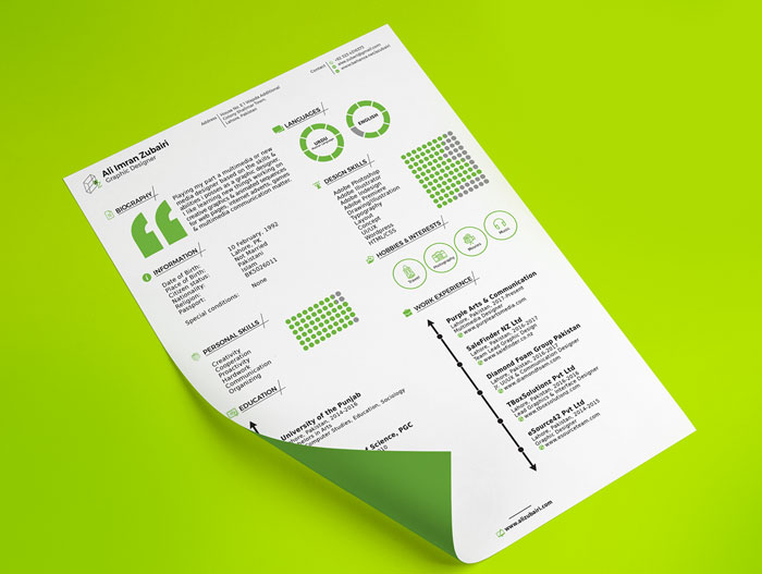 Free-Cool-Trendy-Resume-Template