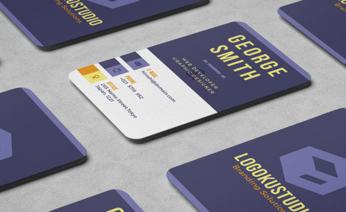 Free-Cube-Business-Card-Template