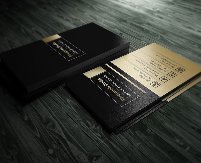Free-Dark-Gold-Business-Card