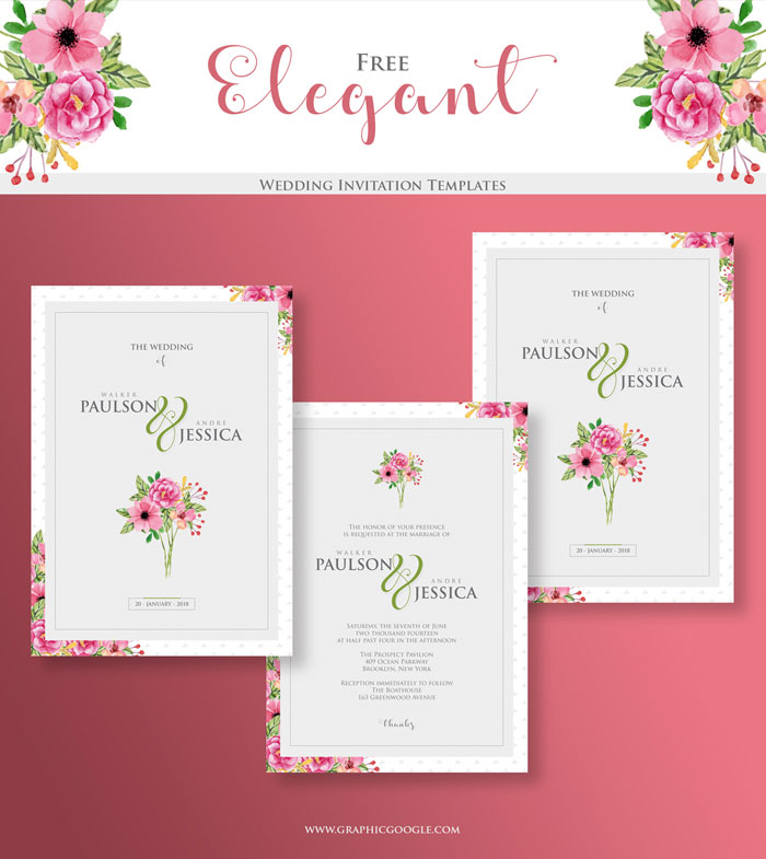 Free-Elegant-Wedding-Invitation-Templates