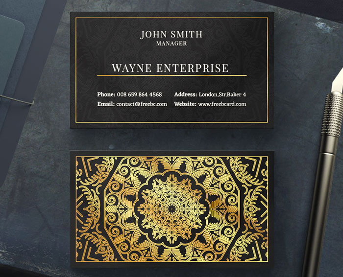 Free-Golden-Mandala-Business-Card-Template