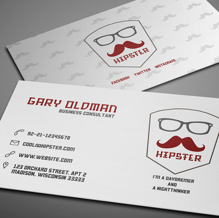 Free-Hipster-Business-Card-Template
