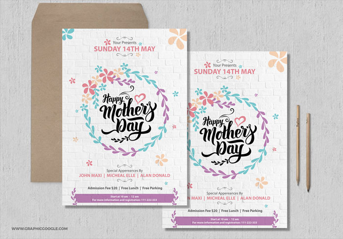 Free-Pretty-Mothers-Day-Flyer-Template