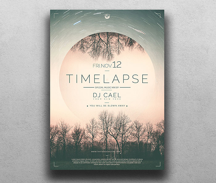 Free-Time-Lapse-Flyer-Design-Template