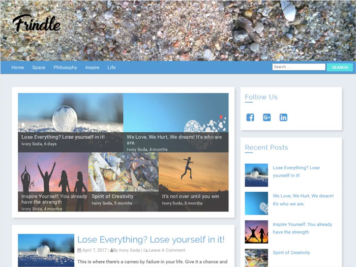 Frindle-Mobile-Friendly-Blog-Magazine-Free-WordPress-theme
