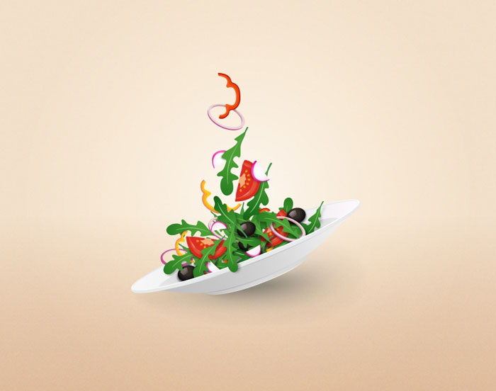 How-to-Create-a-Colorful-Salad-Plate-in-Adobe-Illustrator