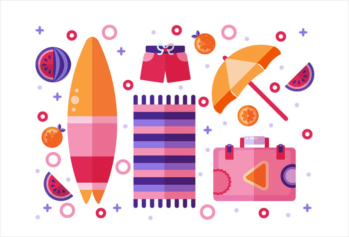 How-to-Create-a-Flat-Design-Summer-Illustration-in-Adobe-Illustrator