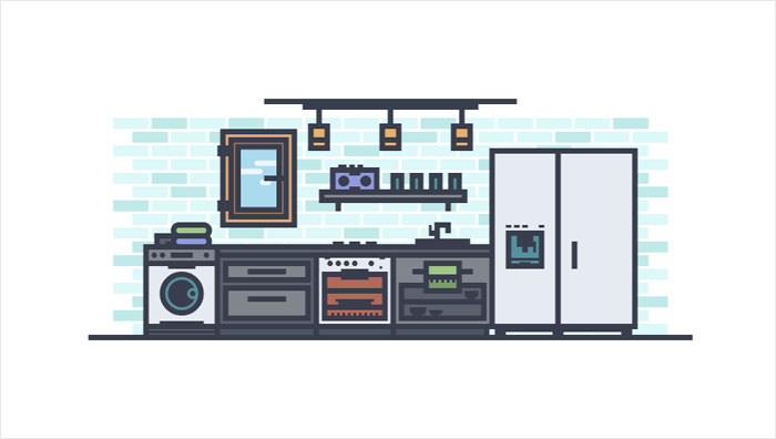 How-to-Create-a-Modern-Kitchen-In-Adobe-Illustrator