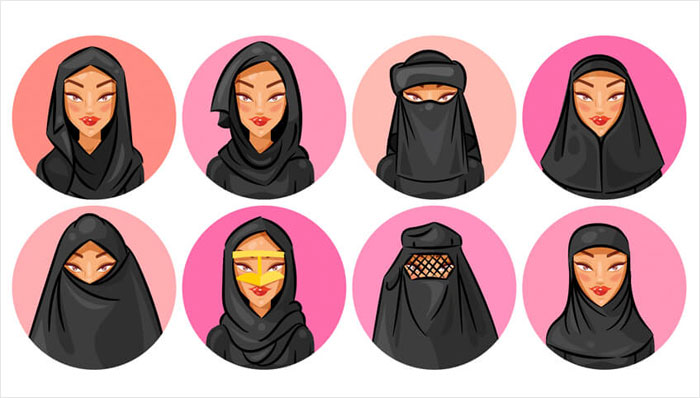 How-to-Create-a-Set-of-Veil-and-Hijab-Avatars-in-Adobe-Illustrator