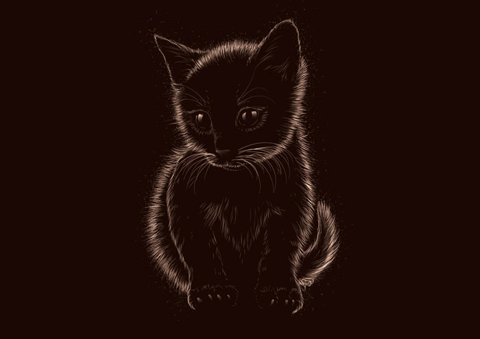 How-to-Create-a-Soft,-Furry-Kitten-in-Adobe-Illustrator