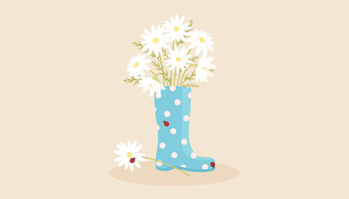 How-to-Create-an-Adorable-Rain-Boot-With-Daisies-in-Adobe-Illustrator