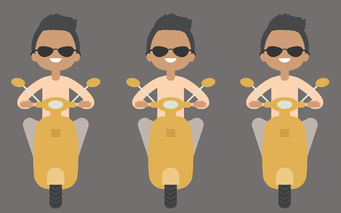 How-to-Create-an-Illustration-of-a-Boy-on-a-Scooter-in-Adobe-Illustrator