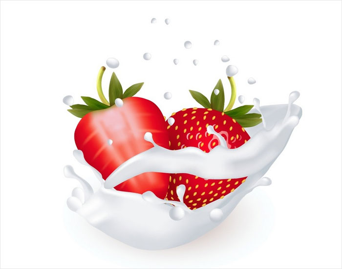 How-to-Use-Gradient-Mesh-to-Create-Strawberries-in-a-Milk-Splash-in-Adobe-Illustrator