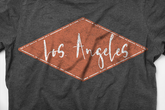 Los-Angeles-Brush-Style-Font