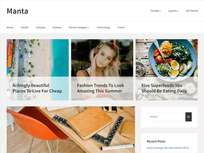 Manta-Lightweight-SEO-Ready-Free-WordPress-Theme